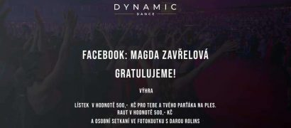 Gratulujeme Magda Zavřelová ! budeme se na Vá